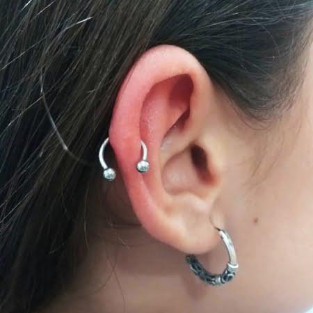 Piercing Oreja hélix