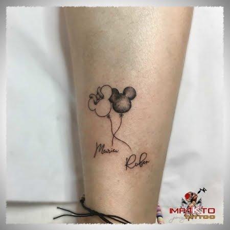 Tatuaje Ilustrativo Hijos