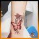Tatuaje acuarela, tatuaje para mujer, Mariposa